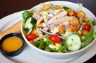 Garden Salad w chicken 138w