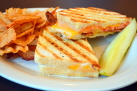 grilled cheese w bacon 138w